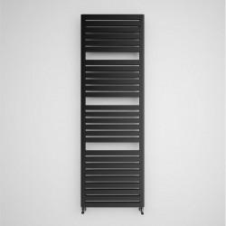 Salisbury - Metallic Black Towel Radiator - H1635mm x W540mm