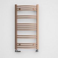 Jade - Galvanic Old Copper Towel Radiator - H753mm x W400mm