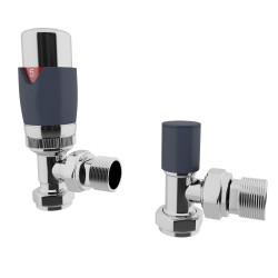 HB Signature Talus TRV Anthracite Thermostatic Valves