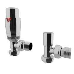 HB Signature Talus TRV Chrome Thermostatic Valves