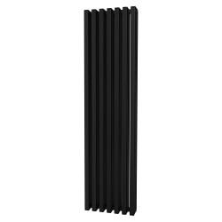 Tetra - Black Vertical Column Radiator - H1800mm x W460mm