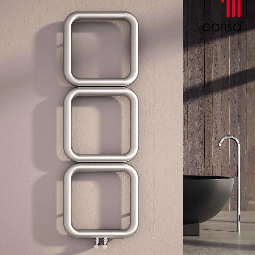 stainless steel bathroom radiator