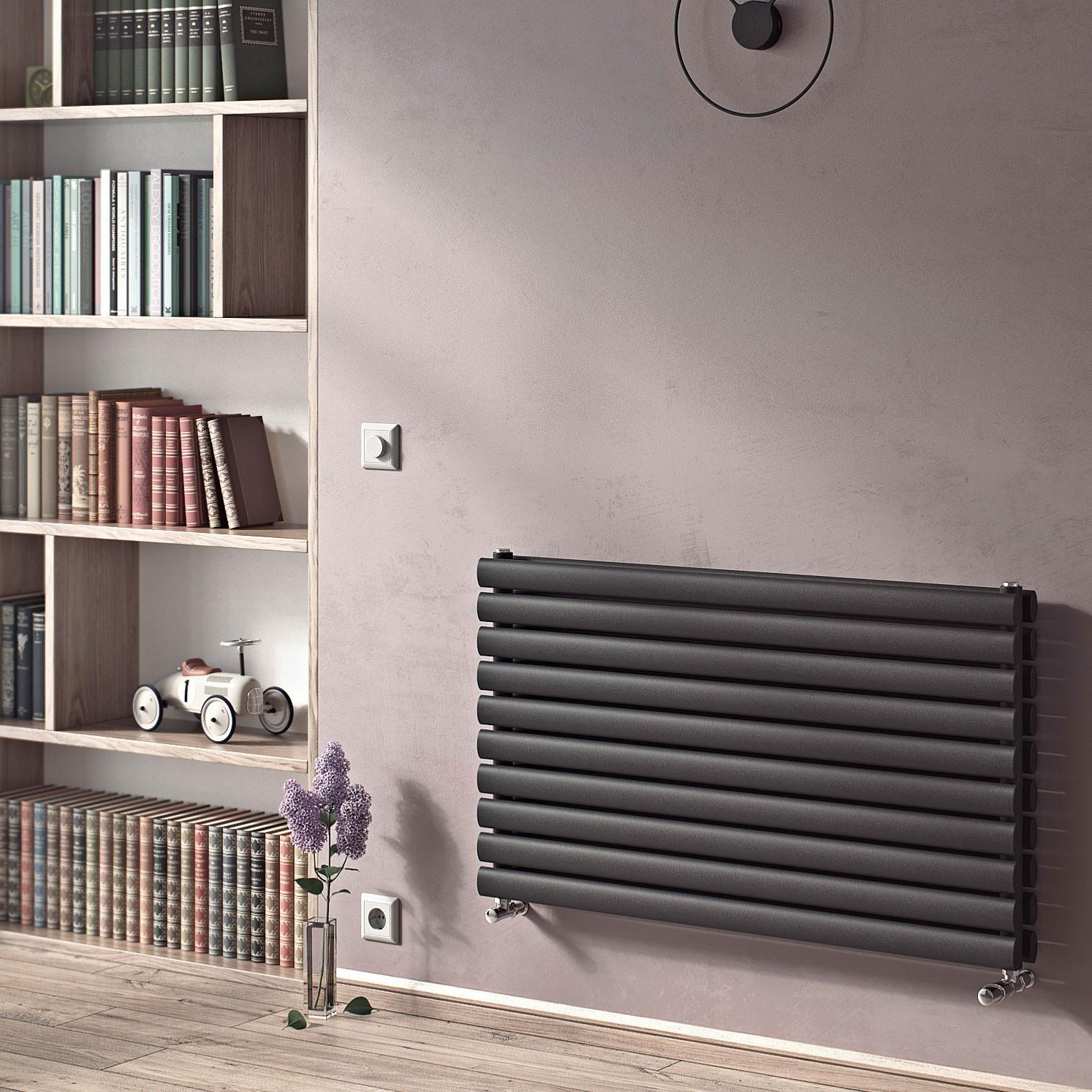 Anthracite radiator
