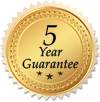 5 Year Guarantee
