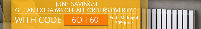 6% off all orders over £60 in June