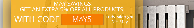 5% off all Products in April